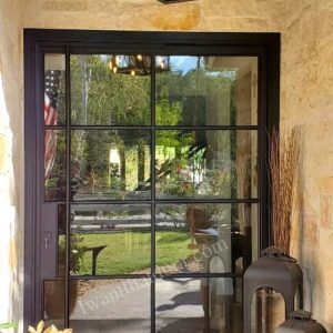 Alamosa Wrought Iron Pivot Door