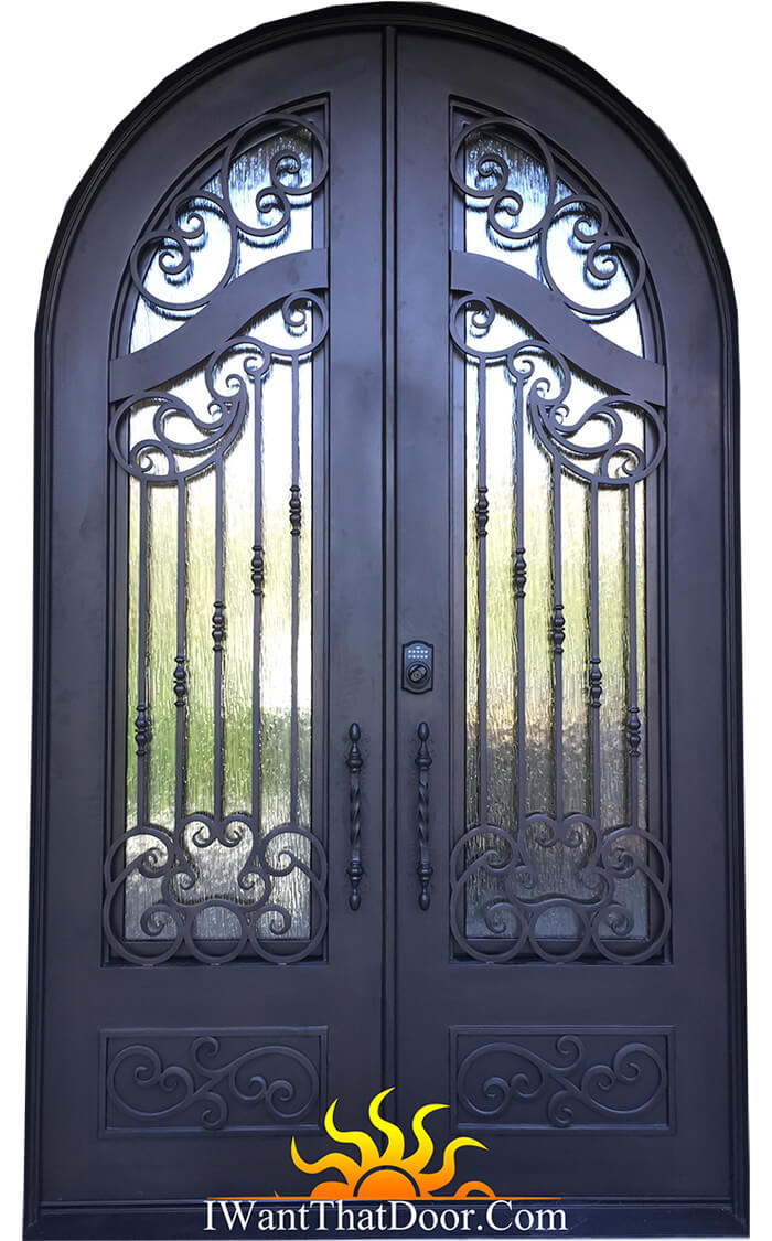 French Iron Door by iwantthatdoor.com