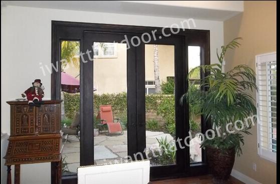 Iron Double Doors