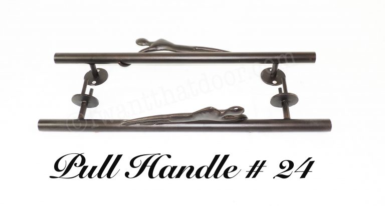 Iron Door Pull Handle 24