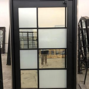 Pivot Iron Door