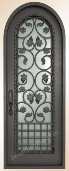 Single Front Entry Iron Door