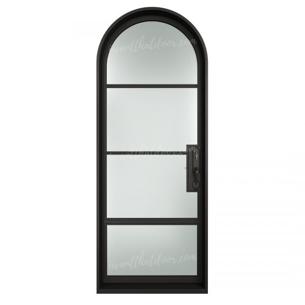 Chloe Front LH French Iron Doors