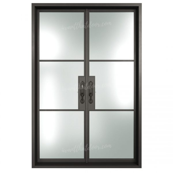 Ermo Front LH French Iron Doors