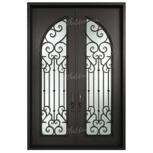 Desmond Double Entry Iron Doors (Front of Door View)