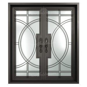 Nairobi Steel Double Entry Doors (Front View)