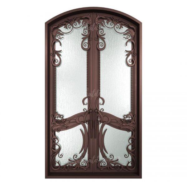 Gothic Double Entry Iron Doors