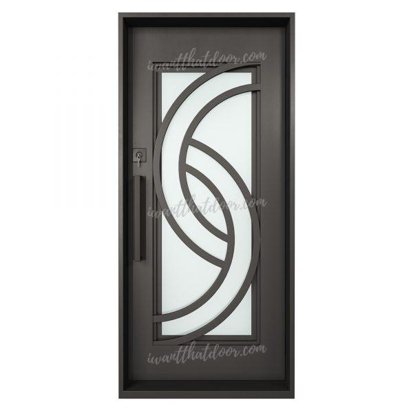 Lititz Single Entry Iron Door