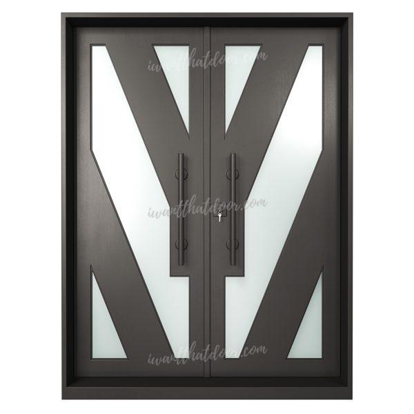Wamego Double Entry Iron Door