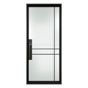 Limpid Single Entry Steel French Door