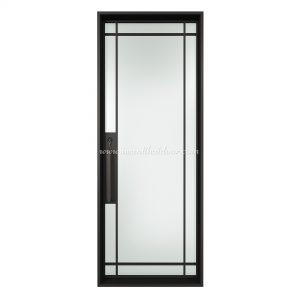 Lucid Single Entry Steel Single French Door